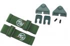 Kit attache sangle pour casque OD Skyairsoft