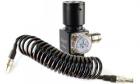Kit Balystik Régulateur HPR800C + Ligne Mini Mamba Noir pour système HPA sur réplique d'airsoft AEG et GBB