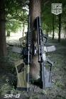 Kit crosse et poignée tactique SR-Q TAN (AEG) SRU