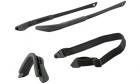 Kit monture ICE Noir ESS pour lunettes de protection balistique airsoft et police