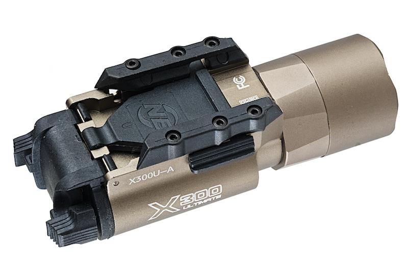 Lampe X300U 220 lumens DE Night Evolution pour réplique d'airsoft