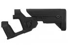 Lancer Tactical Crosse Alpha pour M4 AEG noire