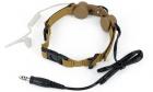Laryngophone Tactical Throat DE Z-TACTICAL pour communication lors de vos parties airsoft