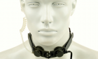 Laryngophone Tactical Throat Foliage Green Z-TACTICAL idéal pour les communications pendant les parties d'airsoft
