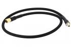 Ligne HPA haut débit nylon tressé Noire EU Mâle vers US Femelle 8mm BALYSTIK