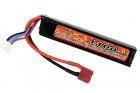Lipo 11.1V 1100mAh 20C Stock Tube Type T-Plug