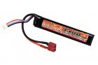 Lipo 7.4V 1100mAh 20C Stock Tube Type T-Plug