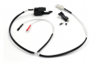 Low resistance Wire Set for AK47 series (Back) with Silver-plated cord Tamiya Plug