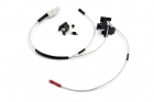 Low resistance Wire Set for M16 series (Back) with Silver-plated cord and Tamiya Plug