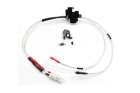 Low resistance Wire Set for M4 series (Front) with Silver-plated cord and Tamiya Plug