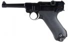 """Réplique de poing airsoft Luger P08 4"""" WE Gaz"""