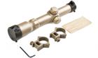 Lunette de visée 1-4x24 Tactical Scope DE AIM pour réplique airsoft sniper.