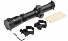 Lunette de visée 1-4x24 Tactical Scope Noir AIM pour réplique airsoft sniper.