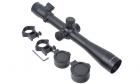 Lunette de visée 3.5-10x40E-SF rouge/vert AIM pour réplique d'airsoft sniper.