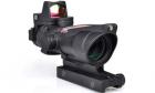 Lunette de visée ACOG 4x32C avec RMR Noir AIM pour réplique airsoft AEG.