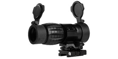 Lunette de visée Magnifier 4x Flip to side Noir AIM