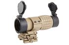 Lunette de visée Magnifier 4x Flip to side Tan AIM