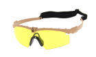 Lunettes Battle Pro Thermal Tan/Jaune - Nuprol