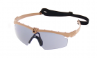Lunettes Battle Pro Thermal Tan/Smoke - Nuprol