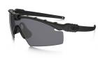 Lunettes SI Ballistic M Frame 3.0 Noir Fumé OAKLEY pour l'airsoft et situations réelles