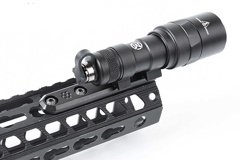 M-LOK & Keymod  Compact ScoutLight Rail Mount For M300&M600