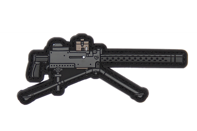 M1919 BW MACHINE GUN PATCH