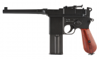 Réplique de poing airsoft M712 Full Metal KWC CO2