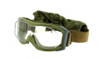 Masque de Protection X1000 OTG Nato Green haute résistance BOLLE