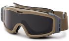 Masque de protection balistique PROFILE NVG Desert ESS pour l'airsoft et situations réelles.