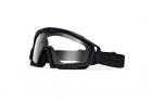 Masque de protection balistique SI BALLISTIC 2.0 Noir Clair OAKLEY idéal pour les militaires ou l'airsoft