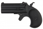 MAXTACT Derringer Full Metal Double Barrel 6mm GBB Pistol - Black