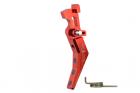 Maxx Model detente CNC advanced pour M4 Style B - Rouge