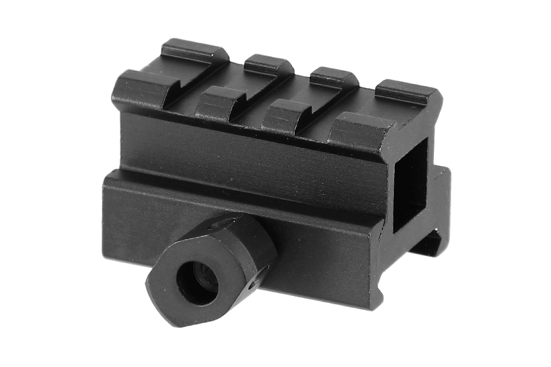Medium Profile 0.83 Inch Picatinny Riser Mount Rail Hunting Accessories