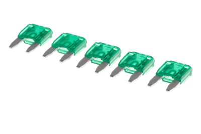 Mini Blade Fuse 30A 5-Pack ICS
