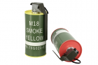 MOCK M18 SMOKE GRENADE SHAPE BB LOADER SET RED/YELLOW