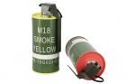 MOCK M18 SMOKE GRENADE SHAPE BB LOADER SET RED/YELLOW