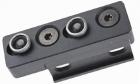 Montage Keymod pour lampe tactique M300/M600 Night Evolution airsoft