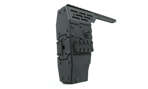 Nitro.Vo P90 Armored Rail System for Tokyo Marui P90 TR / PS90 HC (Can\'t fit P90)