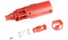 Nozzle rouge pour réplique de poing airsoft Hi-capa gaz / CO2 Armorer Works
