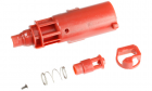 Nozzle rouge pour réplique de poing airsoft Hi-capa gaz / CO2 Armorer Works