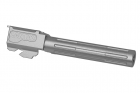 Outer Barrel 9INE Silver pour G17 Tokyo Marui Airsoft Surgeon