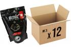 Pack 12 sachets de 3600 billes 0.28g Bio SWISS ARMS pour réplique airsoft