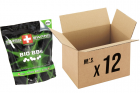 Pack 12 sachets de 5000 billes 0.20g Bio SWISS ARMS pour réplique airsoft