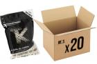 Pack 20 sachets de 3000 billes 0.23g Bio TANIO KOBA pour répliques airsoft