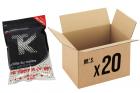 Pack 20 sachets de 3000 billes 0.25g Bio TANIO KOBA pour réplique airsoft