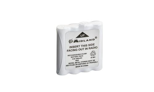 Pack batterie 800 mAh pour M24-S Midland