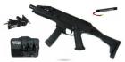Ce pack complet est composé d\'une réplique CZ Scorpion EVO.3 A1 et de ses accessoires de marque ASG