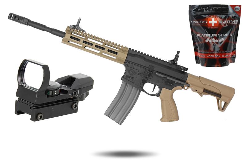 Pack X-MAS CM16 Raider L 2.0E BI-Ton G&G Armament