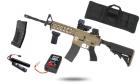 Pack X-MAS CM16 Raider-L Bi-ton Tan G&G Armament