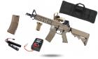 Pack X-MAS CM16 Raider Tan CQB G&G Armament